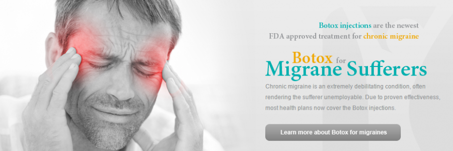 Chronic migraine is an extremely debilitating condition, often rendering the sufferer unemployable. Due to proven effectiveness, most health plans now cover the Botox injections.